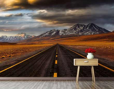 Photo wallpaper Road Atacama